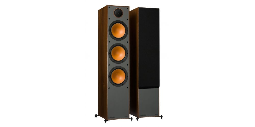 monitor audio monitor 300 walnut altavoces