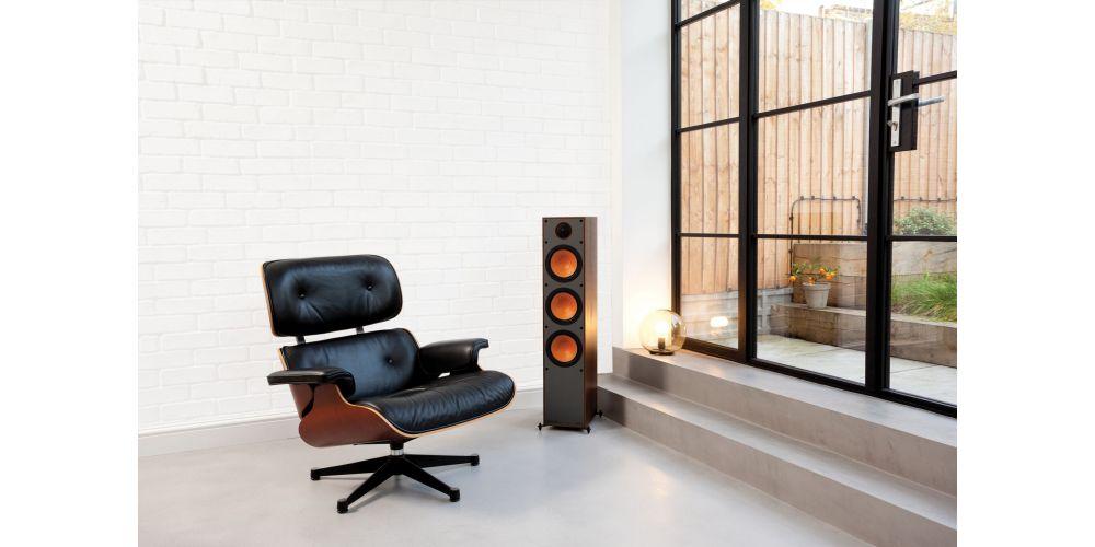 monitor audio monitor300 walnut altavoces pareja altavoz pie