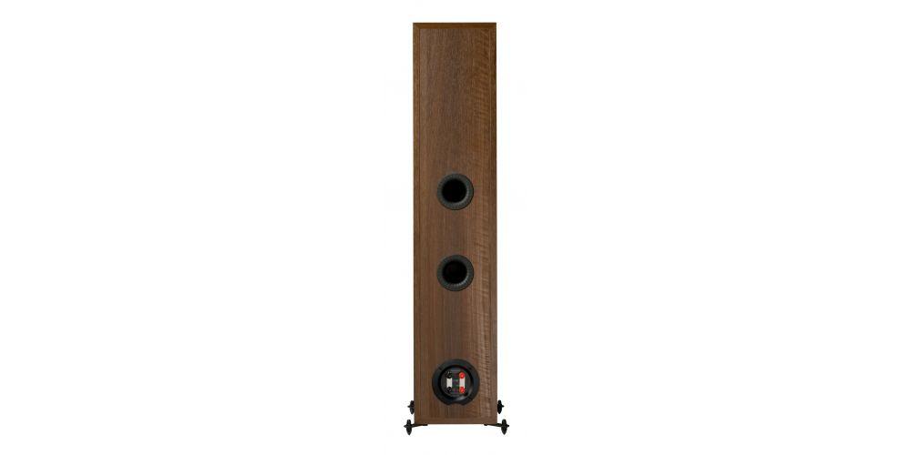 monitor audio monitor300 walnut altavoces pareja conexiones