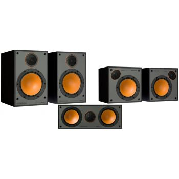 Monitor Audio Monitor 100 Pack 5.0 Black altavoces Home Cinema