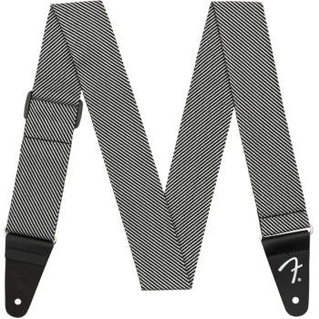 Fender Strap Modern Tweed White Black