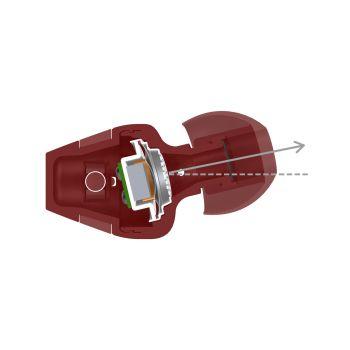 PIONEER SEC1T-B Auricular Cerrado Boton Black  SEC1T-B
