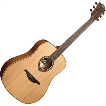 LAG T170D Guitarra Acústica Formato Dreadnought Serie Tramontane