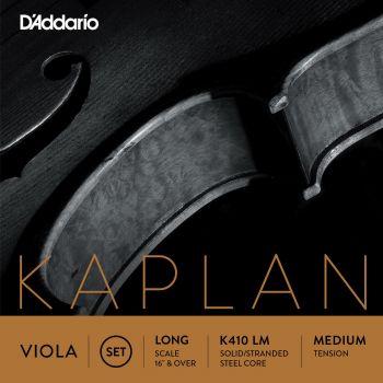 D´addario K410LM Set de cuerdas para viola, tensión media