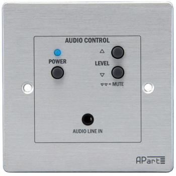 Apart Biamp ACPR Panel de control remoto por cable para SDQ5PIR con entrada local