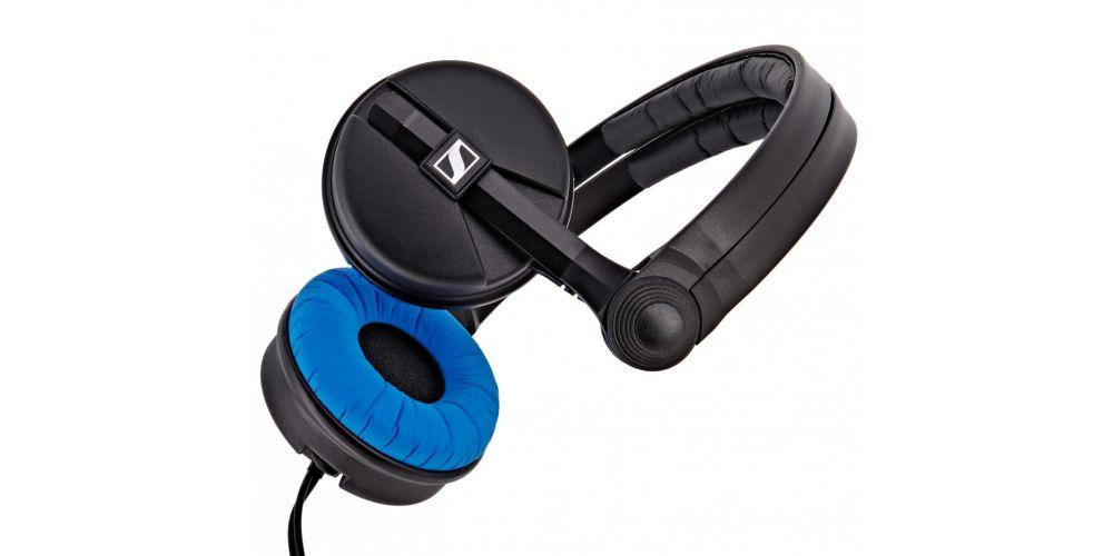 hd25 blue sennheiser auricular dj