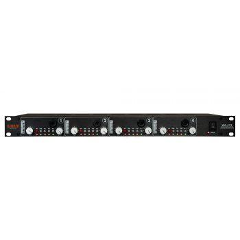 Warm Audio WA412 Amplificador de Micrófono e Instrumento de 4 Canales