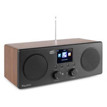 Audizio Bari Radio Wifi Estéreo Madera