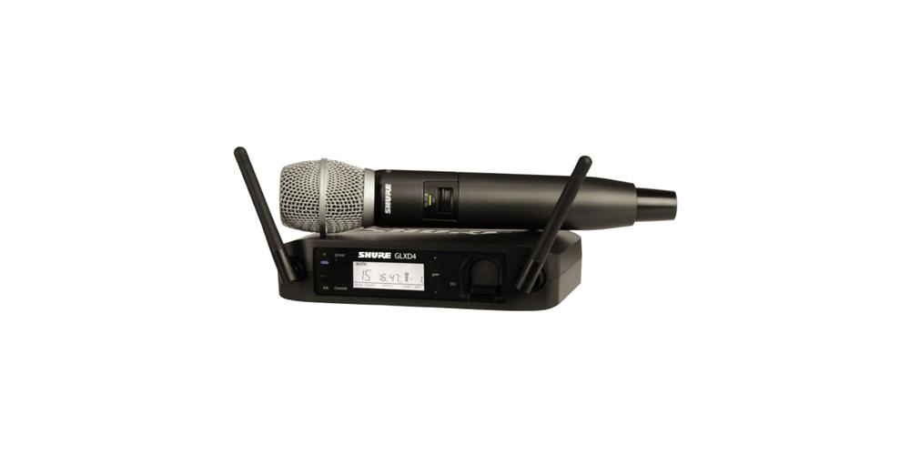SHURE GLXD24E SM86 Microfono inalambrico Digital de Mano