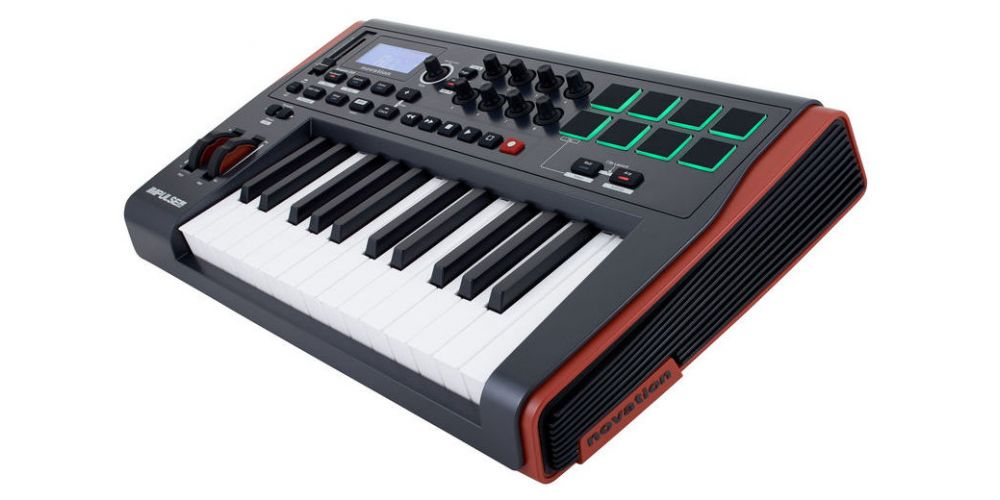 novation impulse 25 lateral