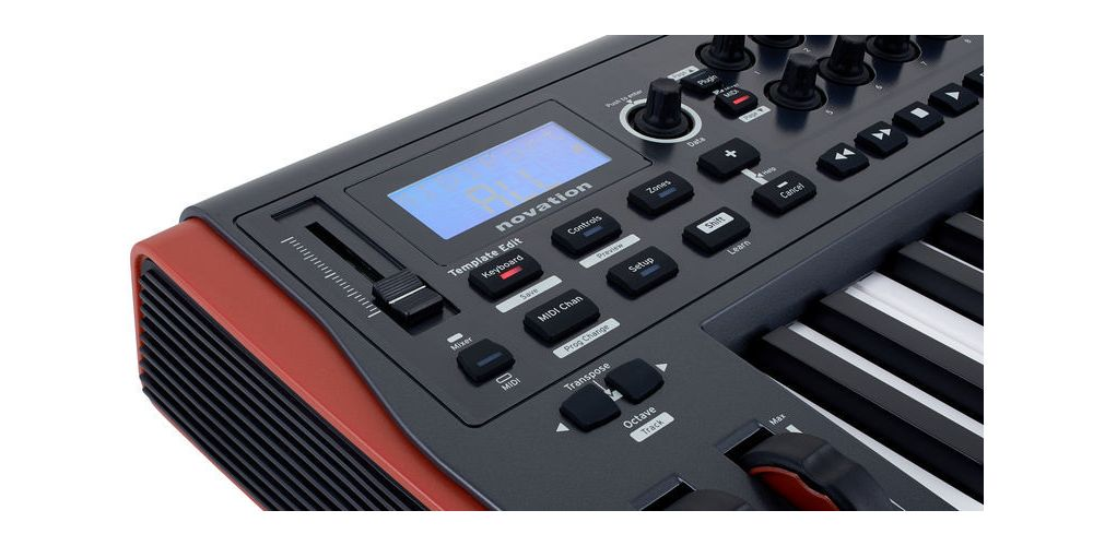 novation impulse 25 pantalla