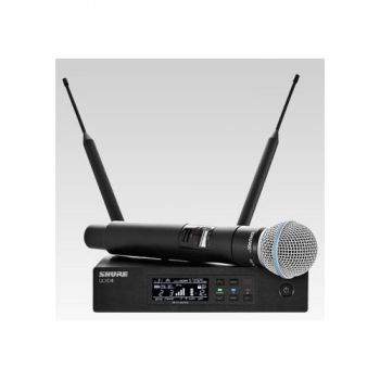 SHURE QLXD24 B58 Microfono inalambrico de Mano