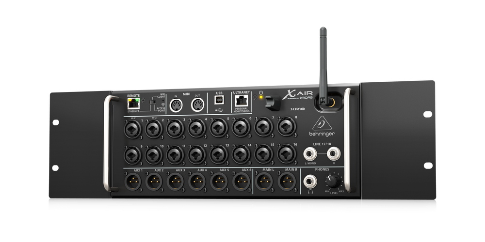 behringer xr18 rack