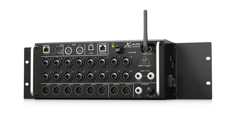 behringer xr18 x air