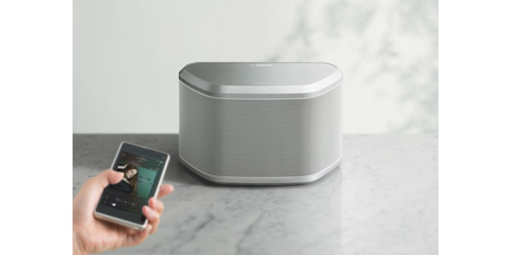 yamaha wx 030 blanco altavoz inalambrico wifi bluetooth
