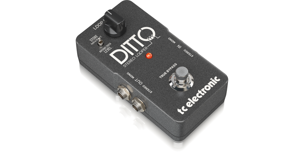 Ditto Stereo Looper tc electronic pedal