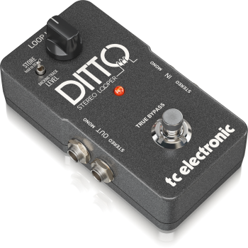 TC Electronic Ditto Stereo Looper, Pedal Efectos -
