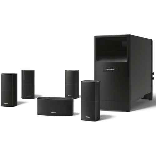 DENON AVR-X1300 Receptor Home Cinema Bose AM-10V Black