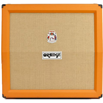 Orange BAFLE PPC412 AD ANGLED