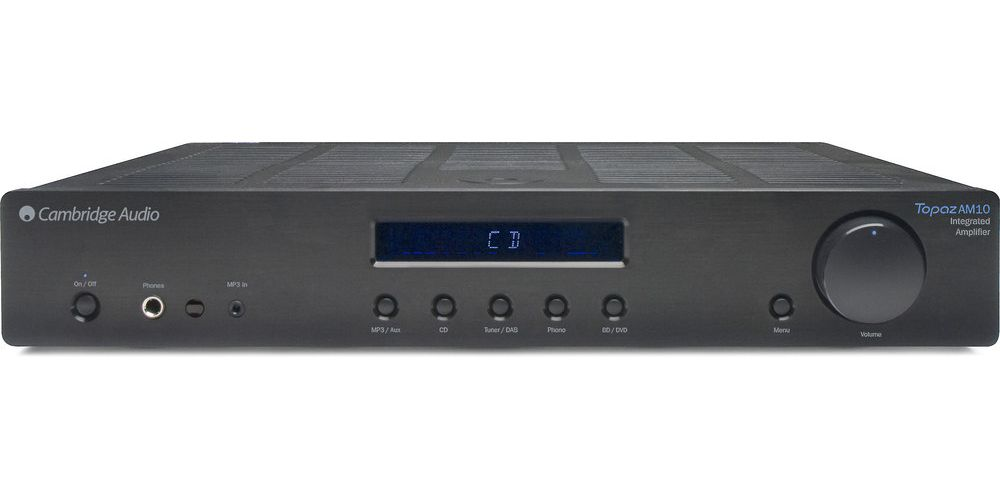 cambridge topaz am10 amplificador estereo