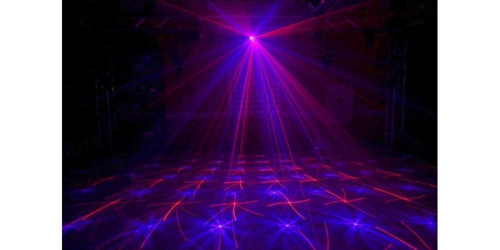 oferta Beamz Anthe II Doble Laser RGB Gobo