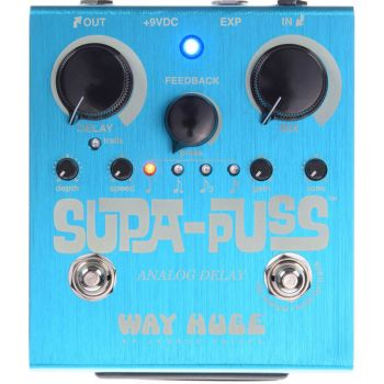 Dunlop MXR WHE707 Pedal DELAY SUPA PUSS - ANALOGICO