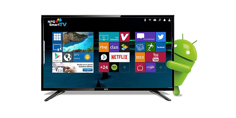 npg 24 pulgadas android tv smart