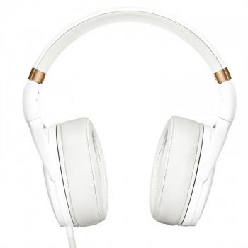 Sennheiser HD 4.30i Auricular On-Ear HiFi Compatible iPhone con Entrada Jack. Blanco
