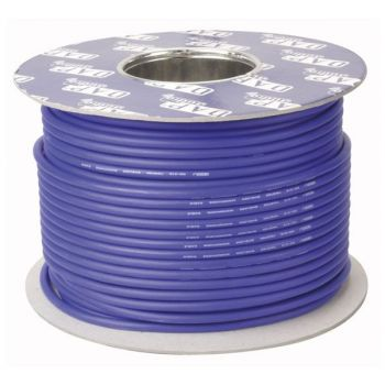 DAP Audio MC-216U Bobina de cable azul con aislamiento para micrófono de 100m