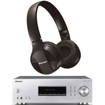 PIONEER SX-20S Receptor Stereo + SE-MJ553BT-K Bluetooth