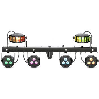 Cameo MULTI FX BAR EZ Sistema de iluminación con 3 efectos de luces para bandas y DJ itinerantes
