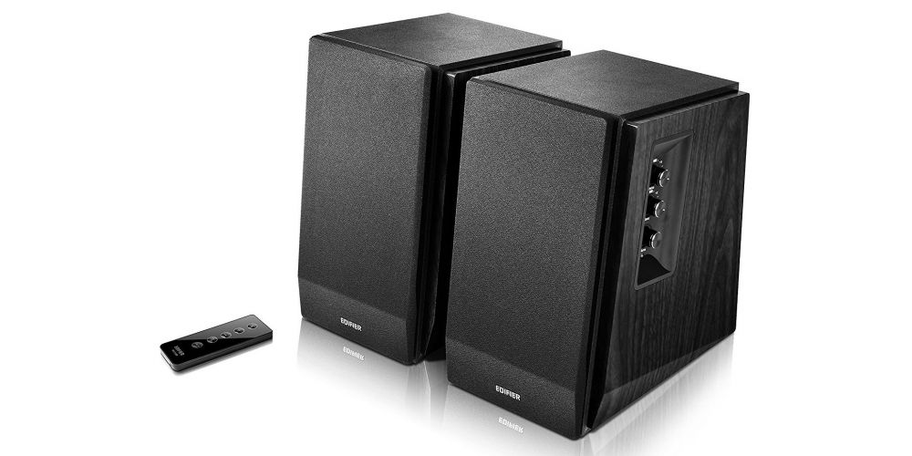 Edifier R1700BT black altavoz estanteria bluetooth tapa mando altavoz pareja