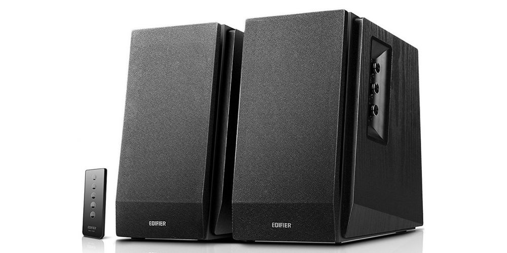 Edifier R1700BT black altavoz estanteria bluetooth tapa mando altavoz