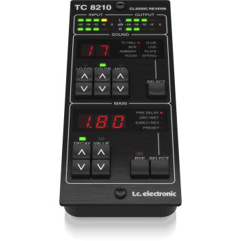 TC Electronic TC8210-DT Plug-in de Reverb con controlador dedicado