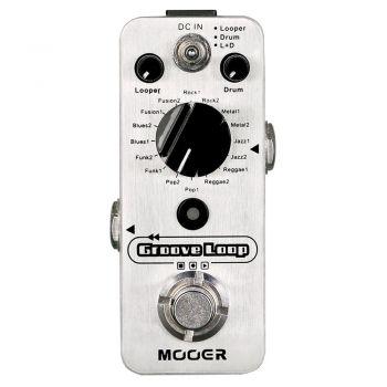 Mooer Grooveloop Pedal Looper y Caja de Ritmos