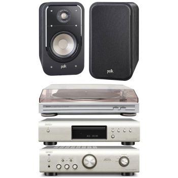 DENON PMA-520S+DCD520S+DP29+Polk audio Signature S-15