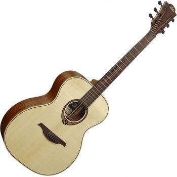 LAG T88A Guitarra Acústica Tipo Auditorium Serie Tramontane Acabado Natural