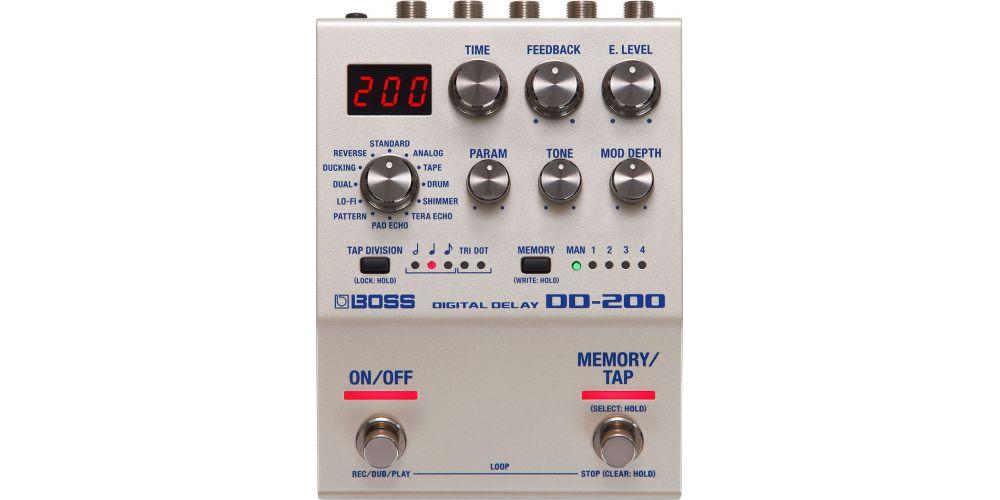 boss dd 200 pedal