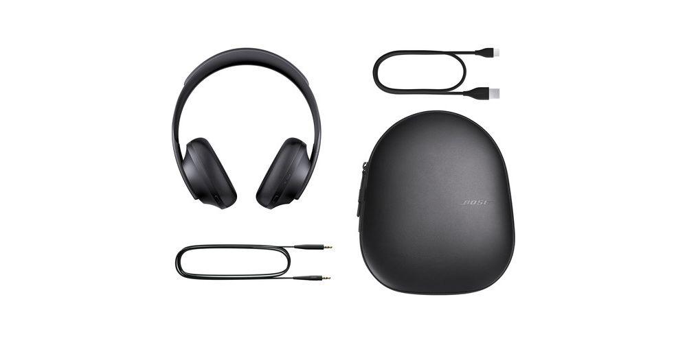 bose headphones 700 black cancelador ruido negro accesorios
