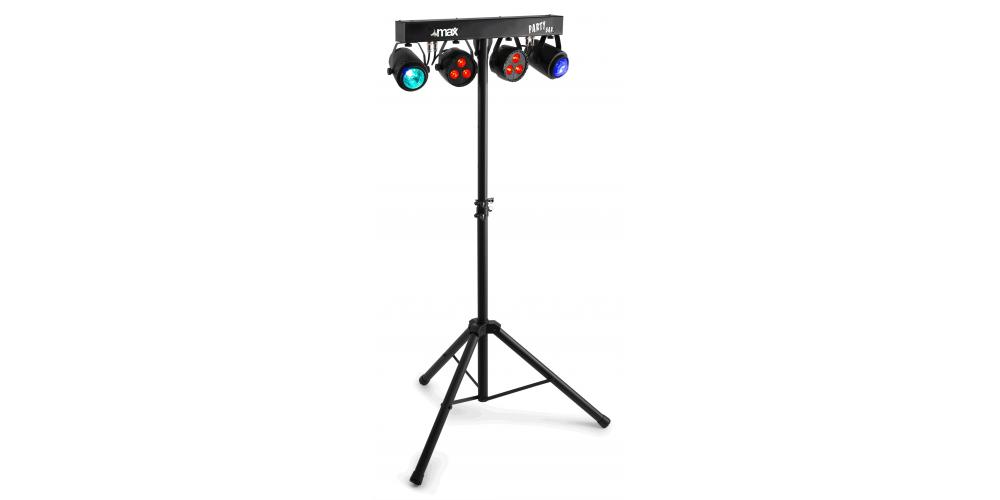 max PartyBar08 Set de Iluminacion