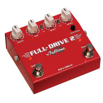 Fulltone Full-Drive 2 V2 Pedal Efectos Guitarra Overdrive
