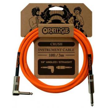 Orange Crush 3M Cable Jack Mono Recto / Jack Mono Acodado 3 Metros