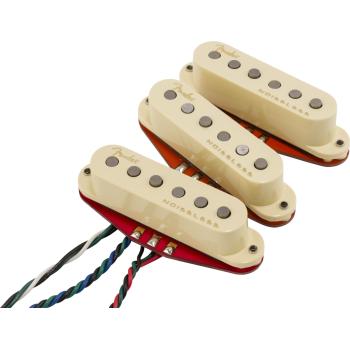 Fender Ultra Noiseless Strat Hot Set de Pastillas para Guitarra Eléctrica