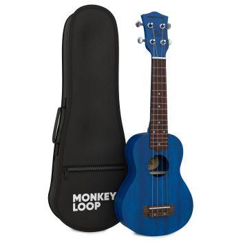 Monkey Loop Stone Midnight Blue Ukelele Soprano