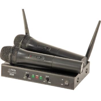 Party 200 UHF MKII Sistema inalámbrico de Mano UHF de 2 canales