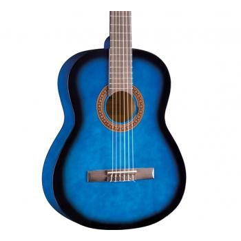 Eko CS-10 Blue Burst Guitarra Clasica
