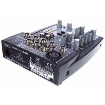 BEHRINGER 502 XENYX Mezclador para Directo Behringer XENIX-502 Und.