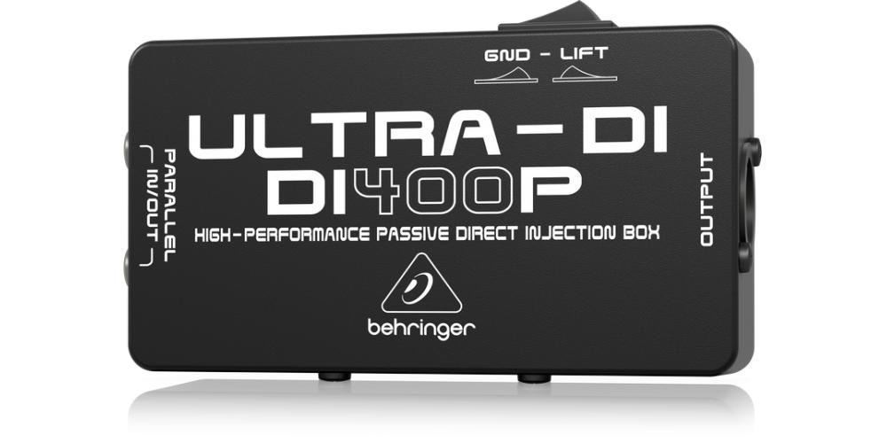 behringer DI400P rear