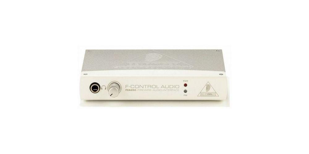 BEHRINGER FCA202 interface de Audio Behringer FCA-202 Und.