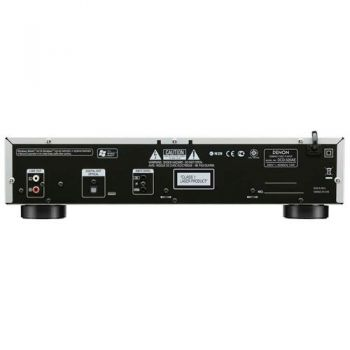 denon hifi dcd520 panel trasero detalle